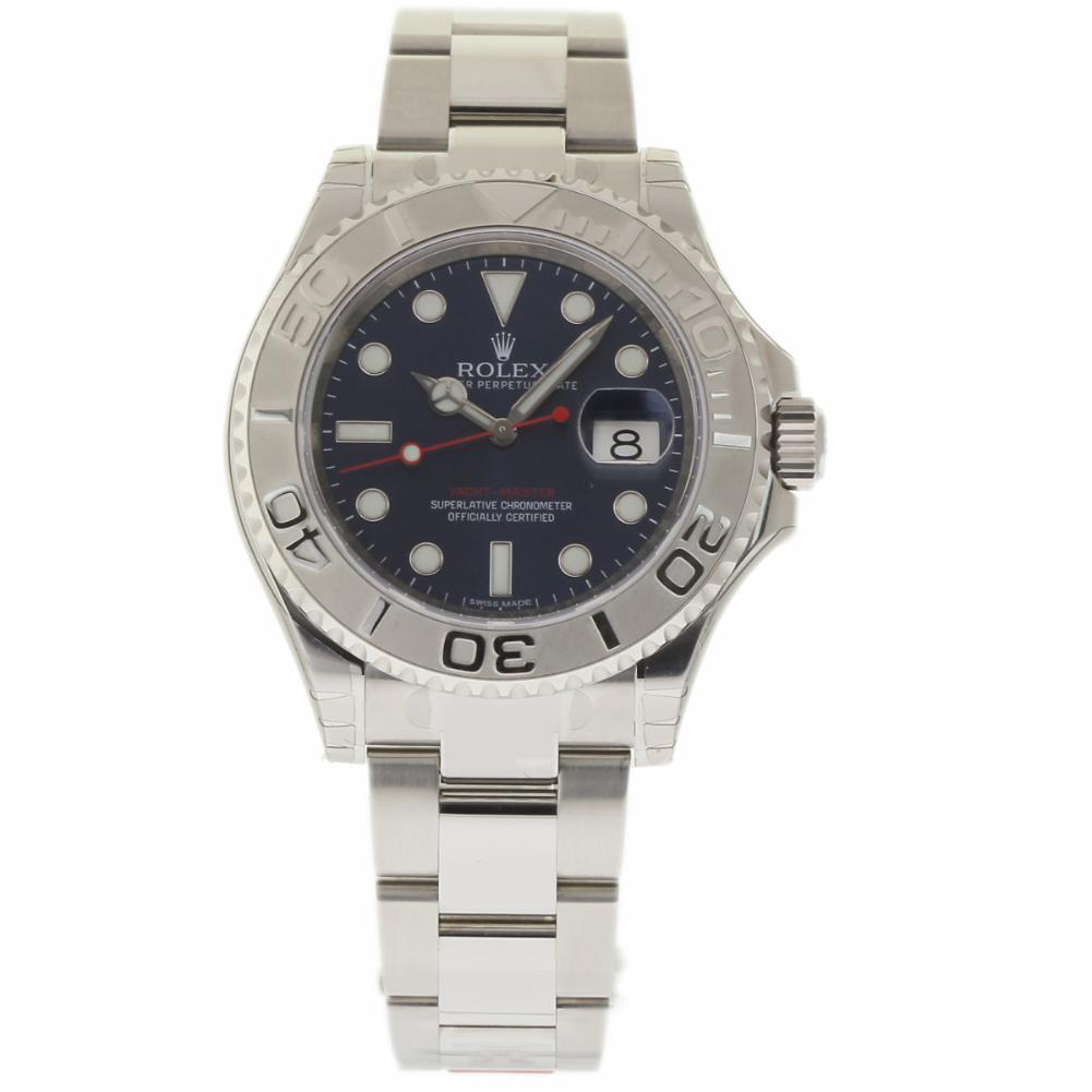 "Image of ""Rolex Yacht-Master 116622 Stainless Steel Platinum Dial Automatic 40mm"""