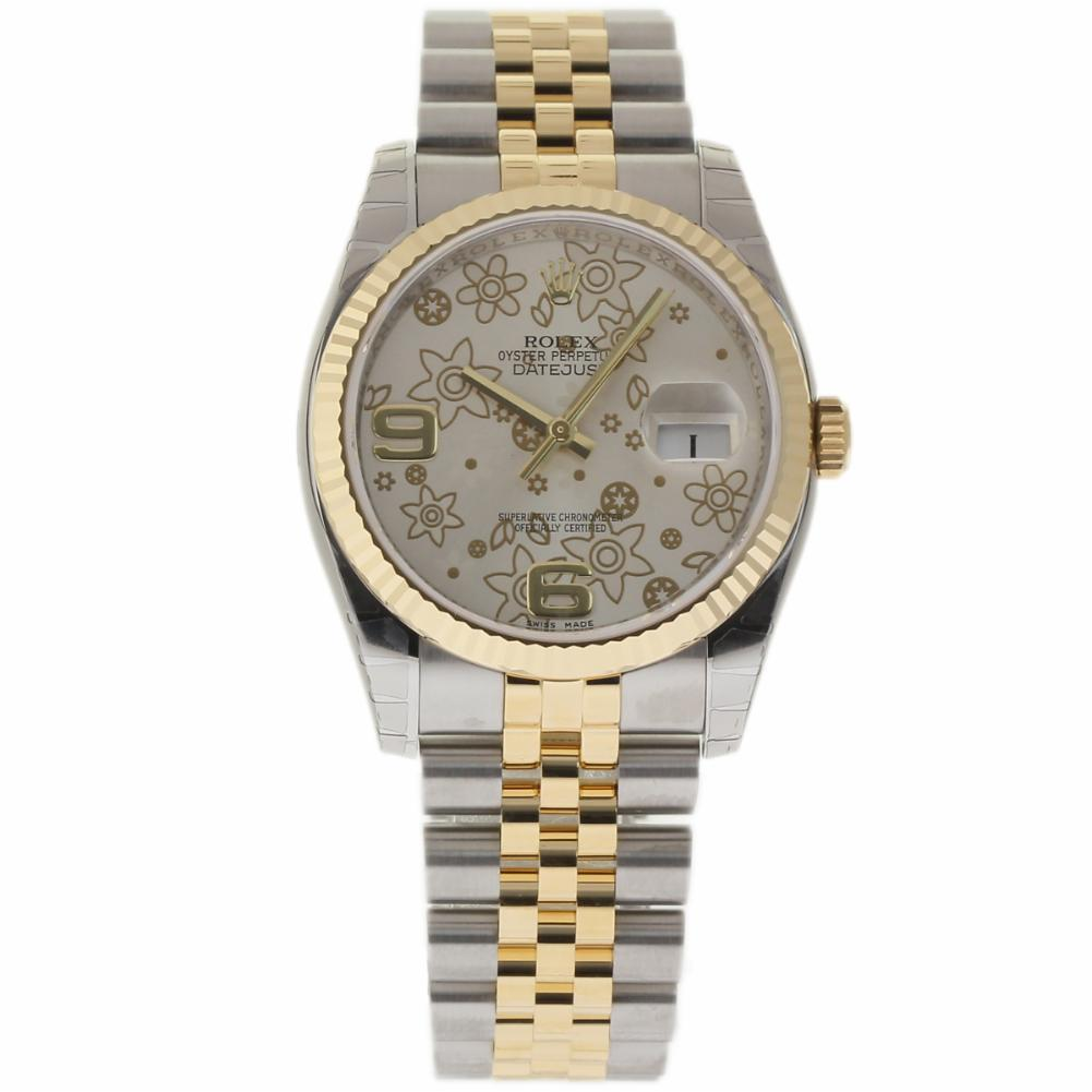 """Image of """"Rolex Datejust 116233 Stainless Steel & 18K Yellow Gold 36mm Unisex"""""""