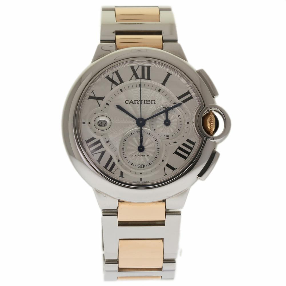 Cartier Ballon Bleu W6920063 Stainless Steel 44mm Mens Watch