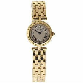 Cartier Panthere 2440 Yellow Gold 24mm Womens Watch