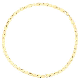 Hermes 18K Yellow Gold Chain Necklace