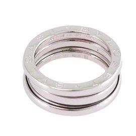 Bulgari 750 White Gold B.Zero1 Ring Size 5.75