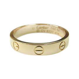 Cartier 18K Rose Gold Love Ring Size 7
