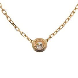 Cartier 18K Rose Gold Diamants Légers de Cartier Diamond Necklace