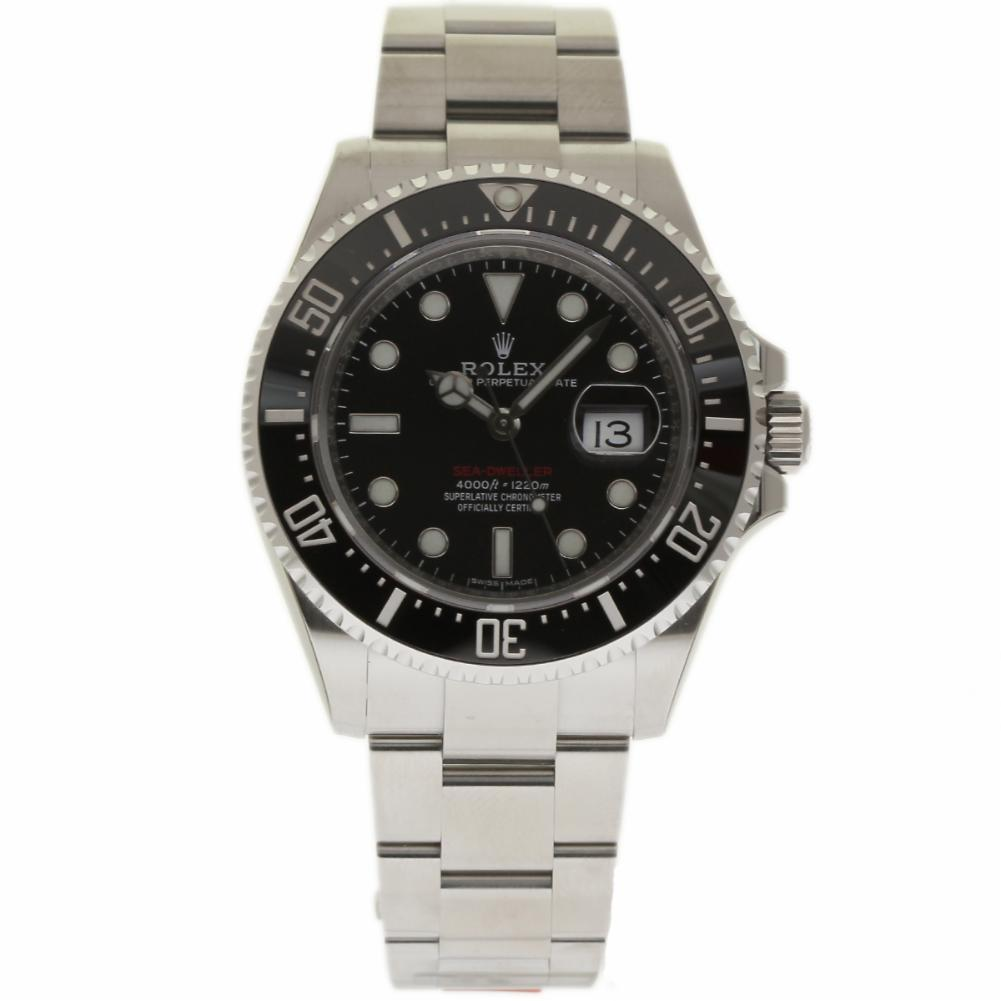"Image of ""Rolex Sea-Dweller 126600 Stainless Steel & Ceramic Black Dial"""