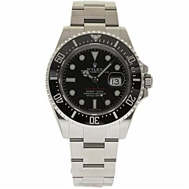 Rolex Sea-Dweller 126600 Stainless Steel & Ceramic Black Dial Automatic 43mm Mens Watch