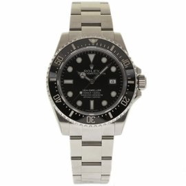 Rolex Sea-Dweller Deepsea 116660 Stainless Steel & Ceramic Black Dial Automatic 44mm Mens Watch