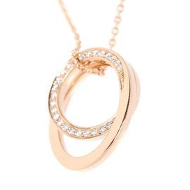 Cartier 18K Pink Gold Etincelle de with 0.14ct Diamond Necklace