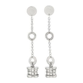 Bulgari B-zero1 18K White Gold Earrings