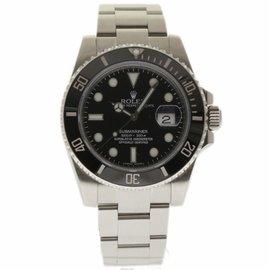 Rolex Submariner 116610 Stainless Steel/Ceramic Black Dial 40mm Mens Watch 2014