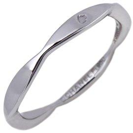 Chanel Camellia 950 Platinum Ring Size 3.5