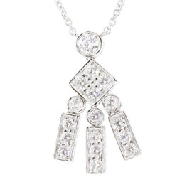 Tiffany & Co. Platinum 950 Diamond Necklace