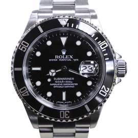 Rolex Submariner 16610 Black Dial Stainless Steel 40mm Mens Watch