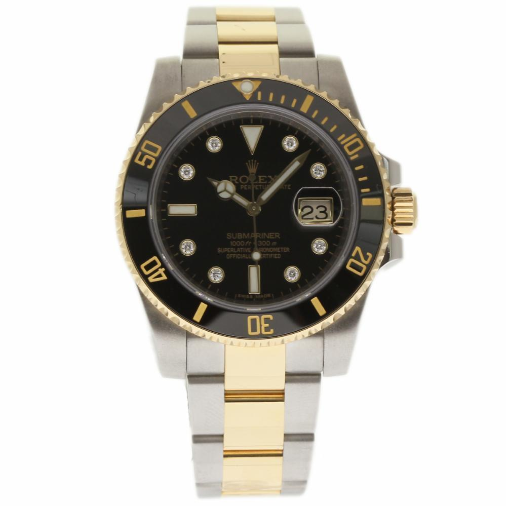 """Image of """"Rolex Submariner 116613 Stainless Steel / 18K Yellow Gold 40mm Mens"""""""