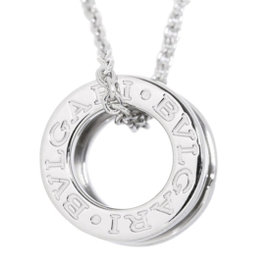 Bulgari B-zero1 18K White Gold Pendant Necklace