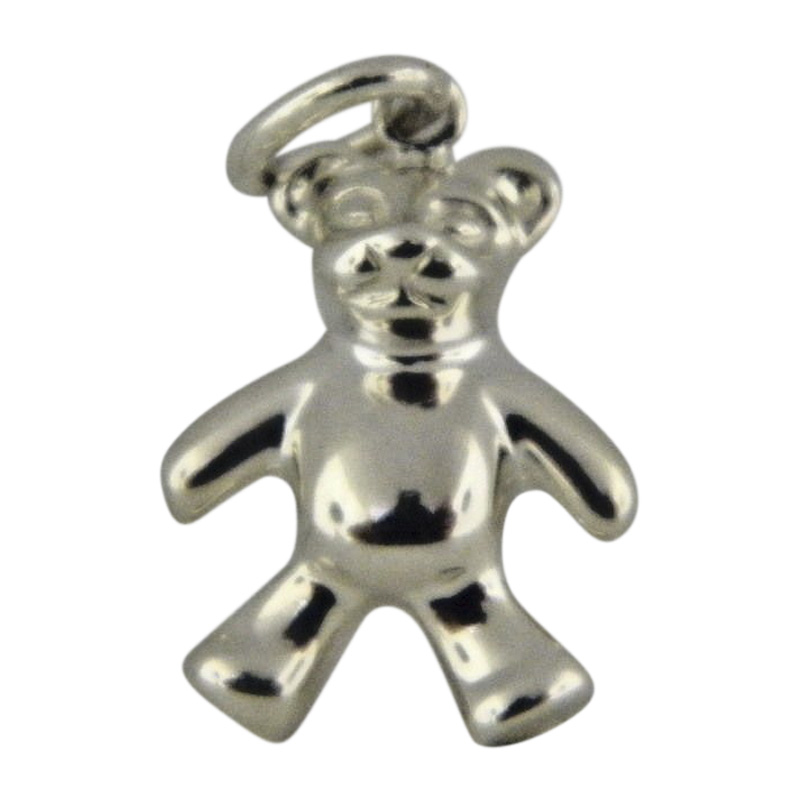"Image of ""Tiffany & Co. Sterling Silver Teddy Bear Charm"""
