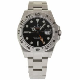 Rolex Explorer II 216570 Stainless Steel Black Dial Automatic 42mm Mens Watch