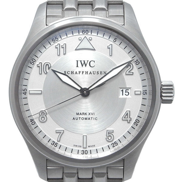 """Image of """"IWC Spitfire MarkXVI Iw325505 Stainless Steel Silver Dial Automatic"""""""