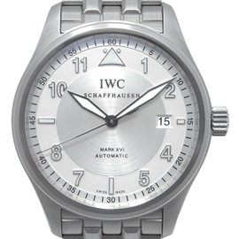 IWC Spitfire MarkXVI IW325505 Stainless Steel Silver Dial Automatic 39mm Mens Watch