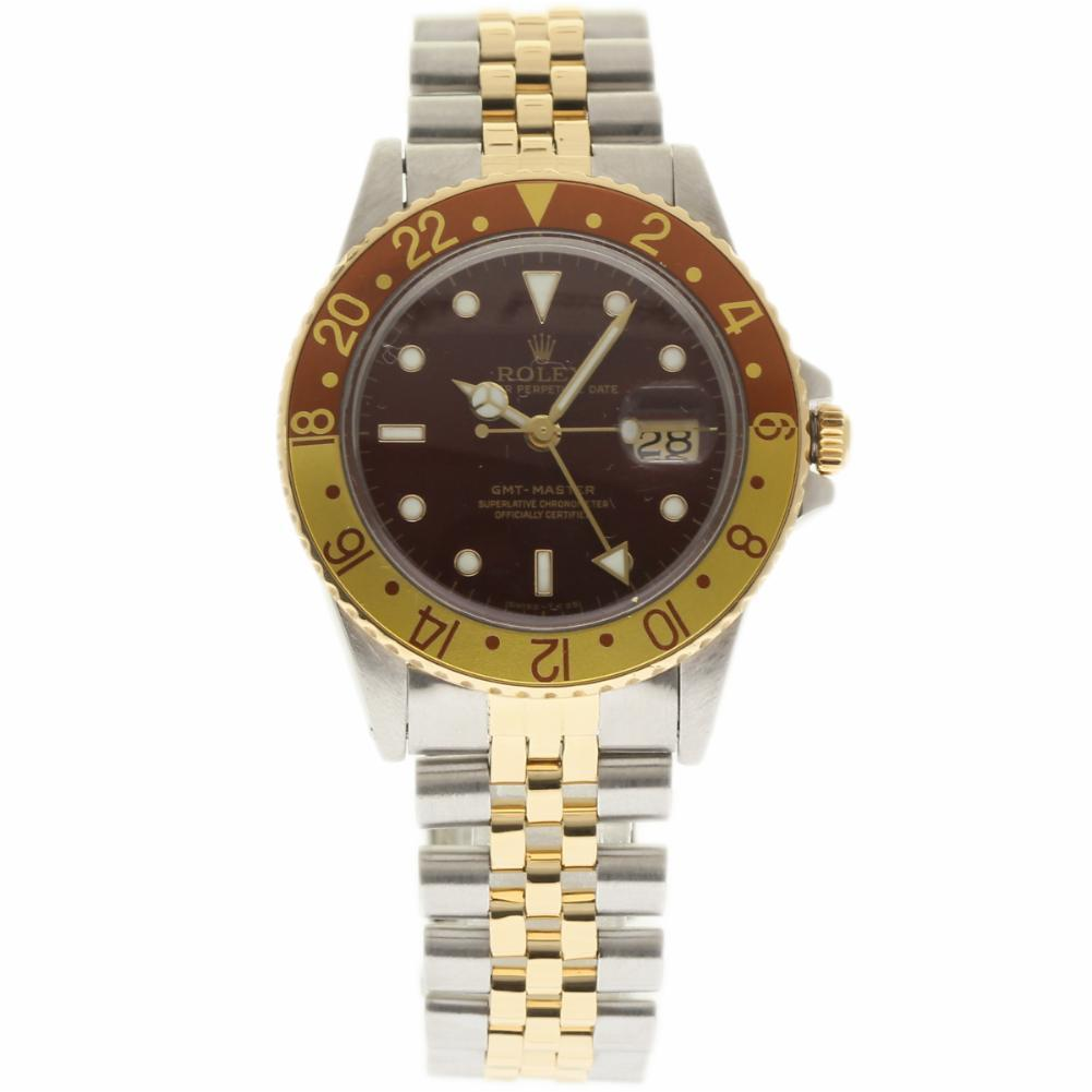 """Image of """"Rolex GMT Master 16753 Stainless Steel & Yellow Gold Automatic 40mm"""""""