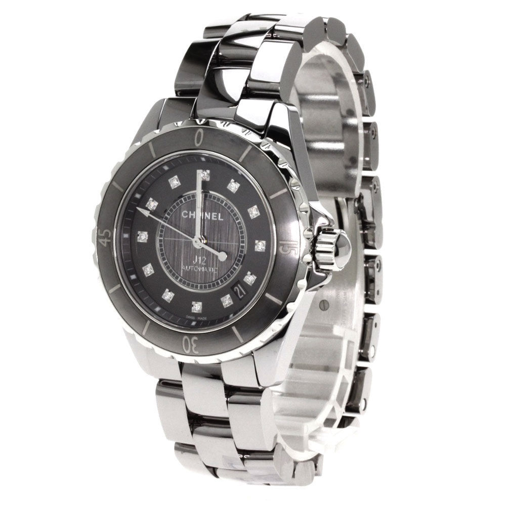 "Image of ""Chanel J12 Chromatic H3242 Stainless Steel/Titanium Ceramic 40mm Mens"""
