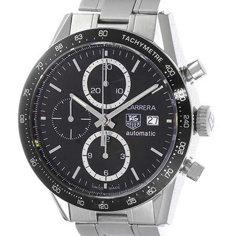 """Image of """"Tag Heuer Carrera Cv2010.ba0786 Stainless Steel 41mm Mens Watch"""""""