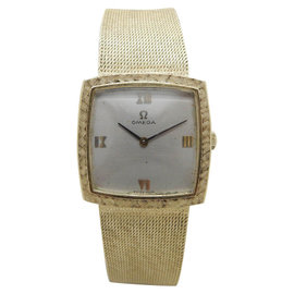 Omega 620 14K Yellow Gold Manual Vintage 26mm Womens Watch