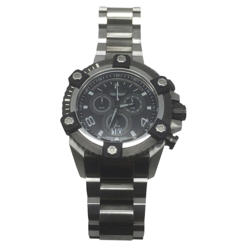 "Image of ""Invicta 0338 Stainless Steel Quartz 59mm Mens Watch"""