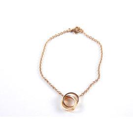 Cartier Love 18K Rose Gold Chain Bracelet