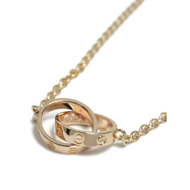 Cartier Love 750 Rose Gold Necklace