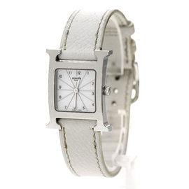 Hermes H Watch HH1.210 Stainless Steel 21mm Womens Watch
