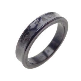 Tiffany & Co. Titanium Ring Size 4.75