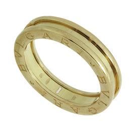 Bulgari B.Zero1 18K Rose Gold 1-Band Ring Size 9.25