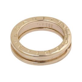 Bulgari B.Zero1 750 Rose Gold Ring Size 4.5
