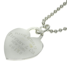 Tiffany & Co. 925 Sterling Silver Return to Tiffany Heart Necklace
