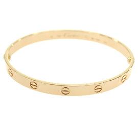 Cartier Love 18K Pink Gold Bracelet Size 20