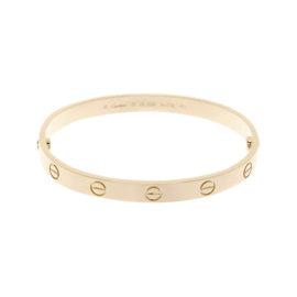 Cartier Love 18K Pink Gold Bracelet Size 17