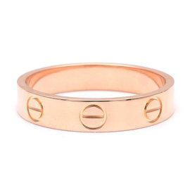 Cartier Mini Love 18K Rose Gold Ring