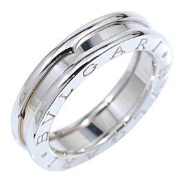 Bulgari B-Zero 1 18K White Gold Band Ring Size 5