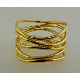 Tiffany & Co. Peretti 18K Yellow Gold Ring Size 7.5