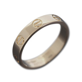 Cartier Love 18K Rose Gold Band Ring Size 5.25