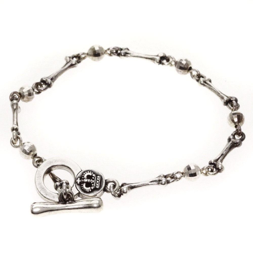 """Image of """"Justin Davis Vaughan 925 Sterling Silver Bracelet"""""""