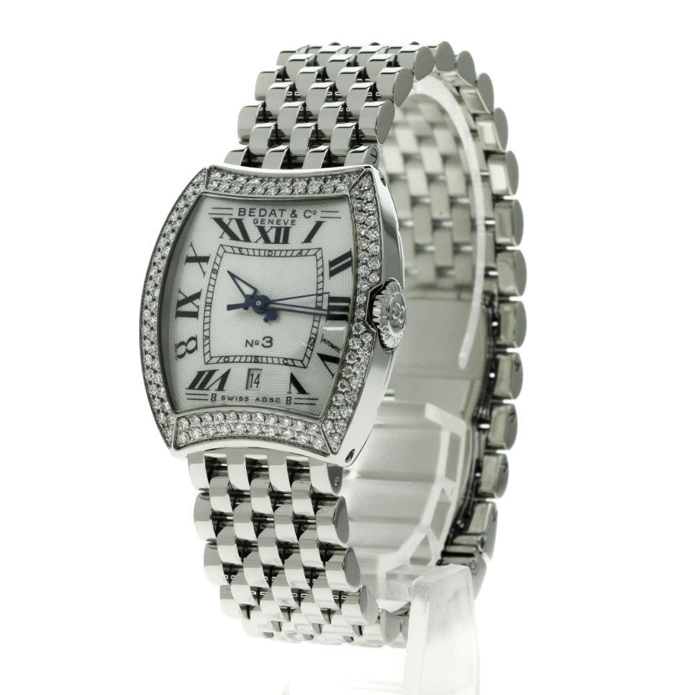"Image of ""Bedat & Co. 314 Stainless Steel Automatic 27mm Womens Watch"""