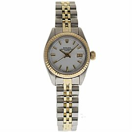 Rolex Date 6917 Stainless Steel & Yellow Gold Automatic 26mm Womens Watch
