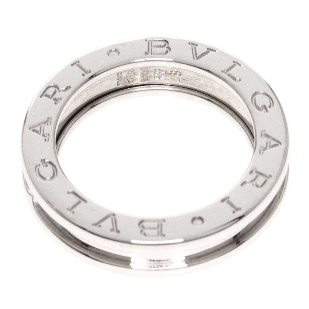 "Image of ""Bulgari 18K White Gold B-Zero1 Ring Size 4.25"""