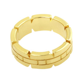Cartier Tank Francaise 750 Yellow Gold Ring Size 5.25