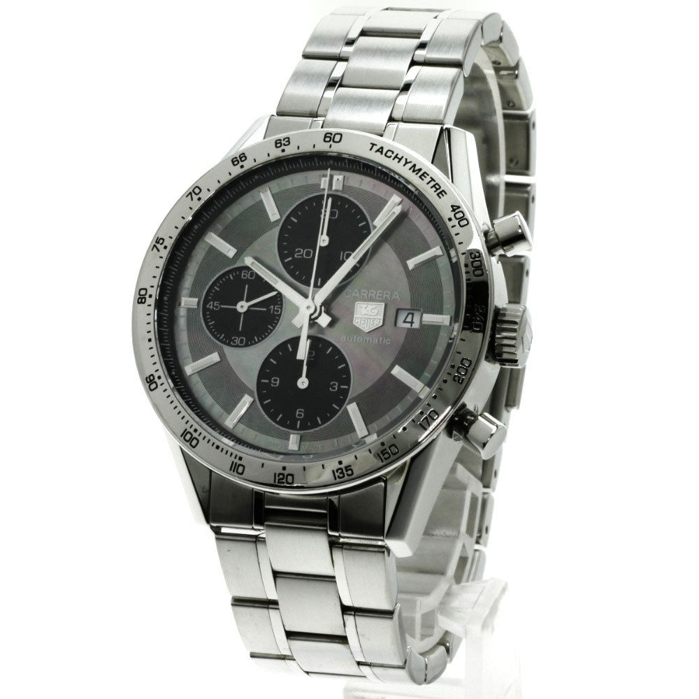 """Image of """"Tag Heuer Carrera Cv201P-0 Stainless Steel Automatic 41mm Mens Watch"""""""