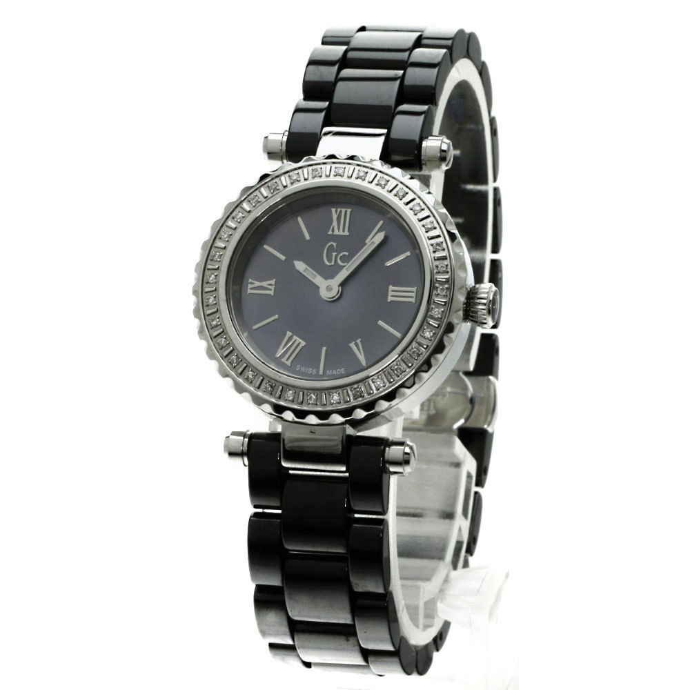 "Image of ""Guess GC Mini Chic X70125L2S Stainless Steel/Ceramic Quartz 28mm"""