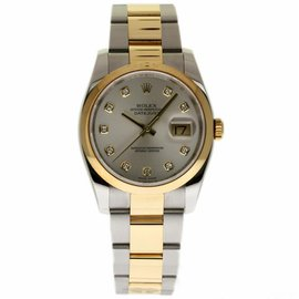 Rolex Datejust 116203 Stainless Steel & 18K Yellow Gold 36mm Unisex Watch