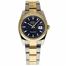 Rolex Datejust 116203 Stainless Steel & 18K Yellow Gold 36mm Unisex Watch